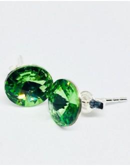 Crystals earrings erinite