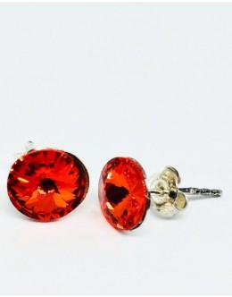 Crystals earrings hyacinth