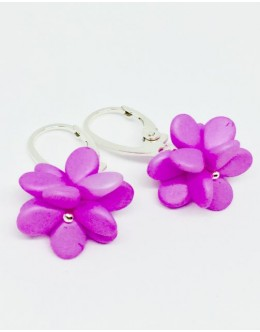 Sugar pink earrings