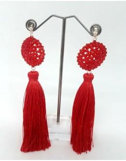 Earrings with tassels 1