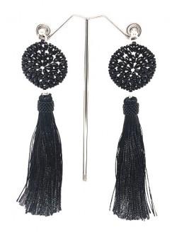 Earrings with tassels 10