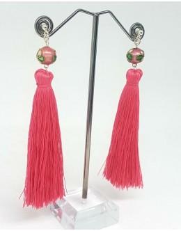 Earrings with tassels 13
