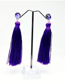 Earrings with tassels 17