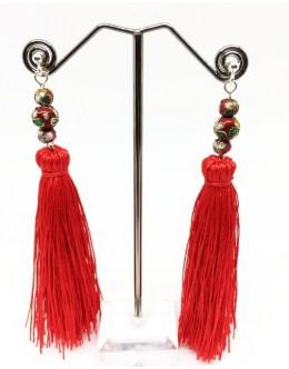 Earrings with tassels 2