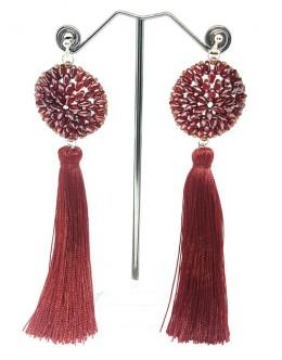 Earrings with tassels 3