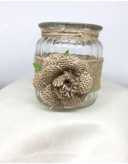 Decorative jar candles vintage BD001