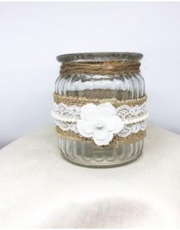 Decorative jar candles vintage BD002