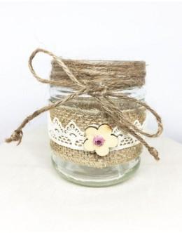 Decorative jar candles vintage BD003