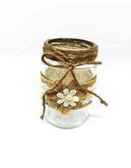 Decorative jar candles vintage BD005