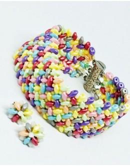 The pastel bracelet