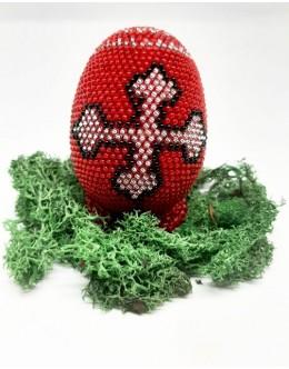 Bead crochet Easter egg2