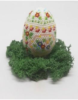 Bead crochet Easter egg3