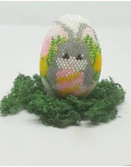 Bead crochet Easter egg4