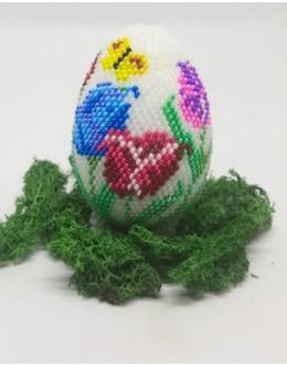 Bead crochet Easter egg5