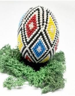 Bead crochet Easter egg9
