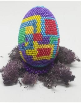 Bead crochet Easter egg10