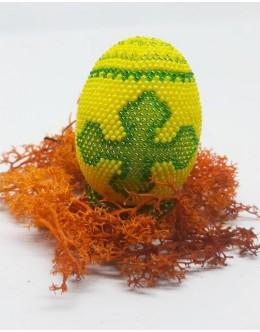 Bead crochet Easter egg11