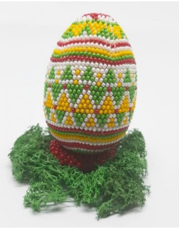 Bead crochet Easter egg12
