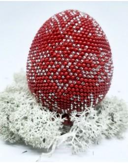 Bead crochet Easter egg15
