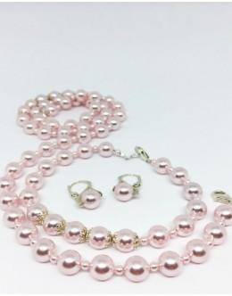 Rosaline pearls set