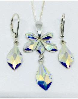 Swarowski crystals set crystal AB