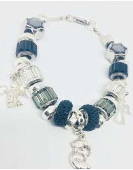 Swarovski charm bracelet