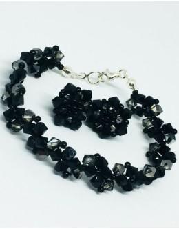 Swarovski black&black diamond set