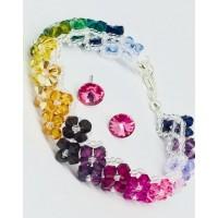 Swarovski  multicolour set