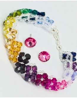 Swarovski  multicolour set
