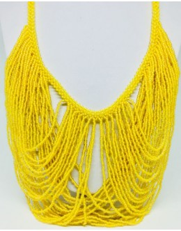 The Toho yellow necklace