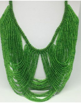 The Toho green necklace