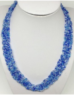 The Toho blue shades necklace