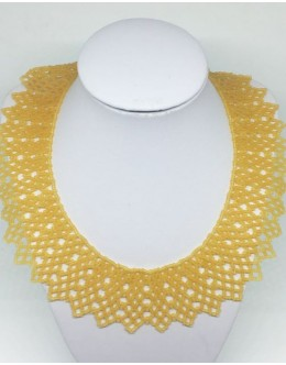 Toho cream collar 1