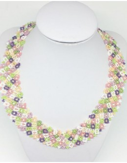 Toho floral collar 1